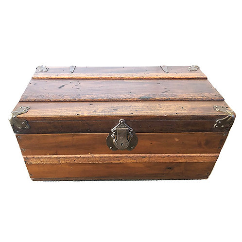 Small Steamer Vintage Trunk