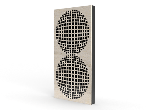 Invisi-Dots Long Sound Diffuser Panel