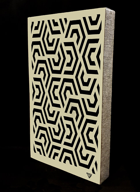 2 x Hex Mex Earth Absorber Wall Panels