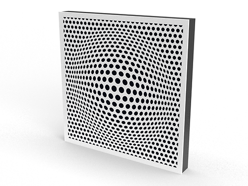 2 x Square Beer Belly Sound Diffuser Panels