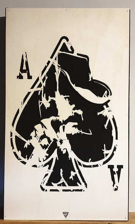 Artiste Series: Lemmy Earth Absorber Wall Panel