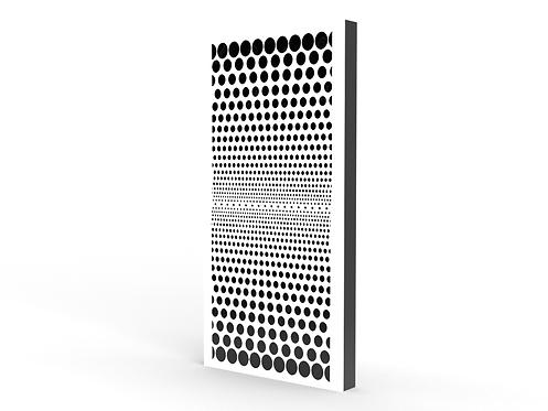 2 x Halftone Dots Long Sound Diffuser Panels