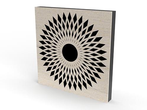 2 x Square Apache Sound Diffuser Panels