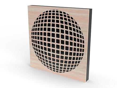 2 x Square Invisi-Dots Sound Diffuser Panels
