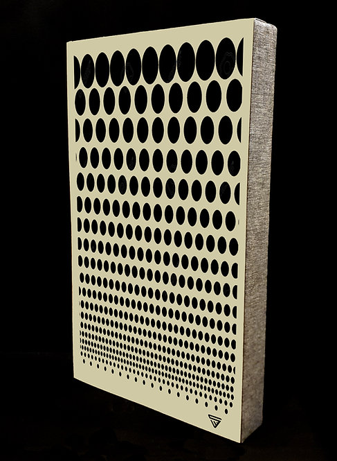 Halftone Dots Earth Absorber Wall Panel