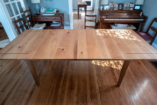 Cherry Butterfly Table (Expanded)