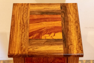 Bubinga / Morado Bedside Table