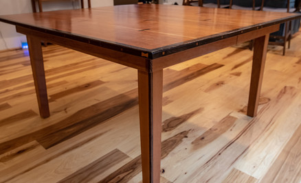 Cherry Table w/ Wenge Accent