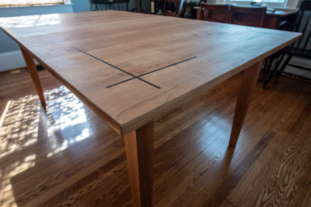 Cherry Butterfly Table w/ Wenge Accent