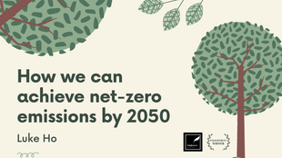 How we can achieve net-zero emissions by 2050