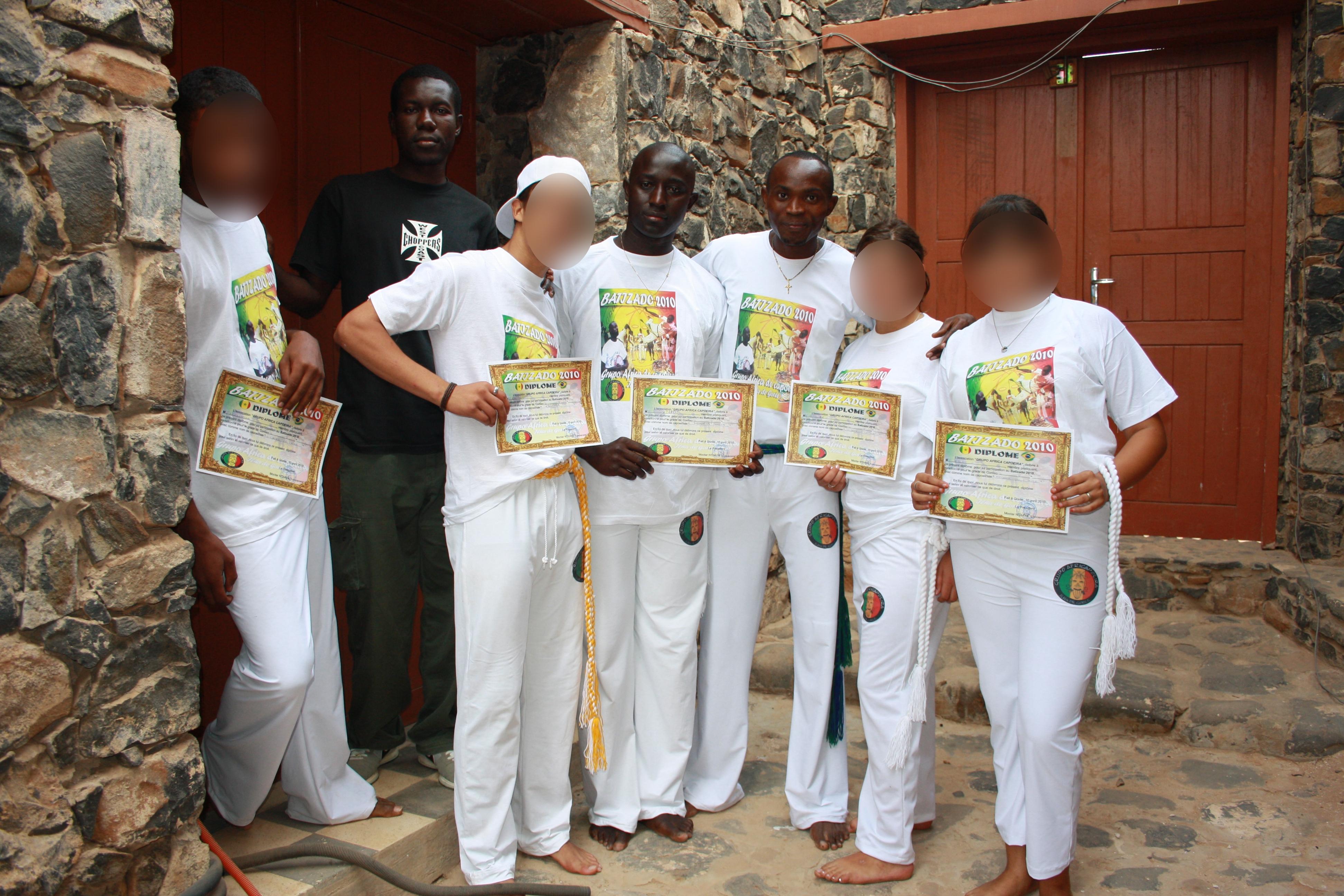 Diplômes capoeira