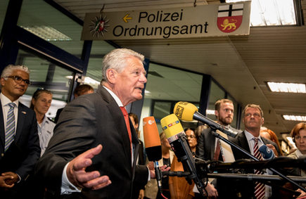 Joachim Gauck in Bonn