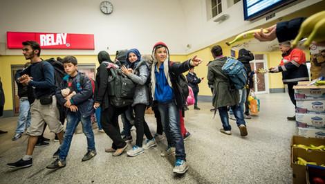 Die ersten Flüchtlinge in Celle