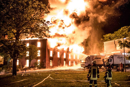 Großbrand in Celle