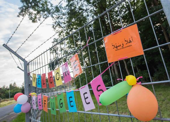 Flüchtlingslager Scheuen