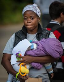 Die Flüchtlinge in Celle