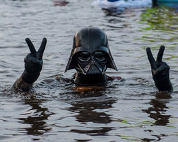 Fackelschwimmen