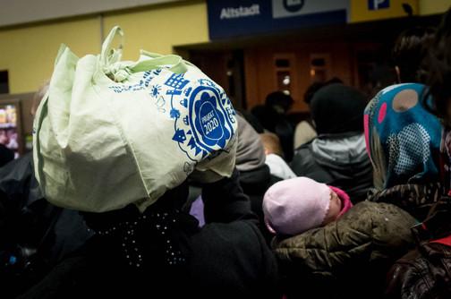Die ersten Flüchtlinge kommen in Celle an