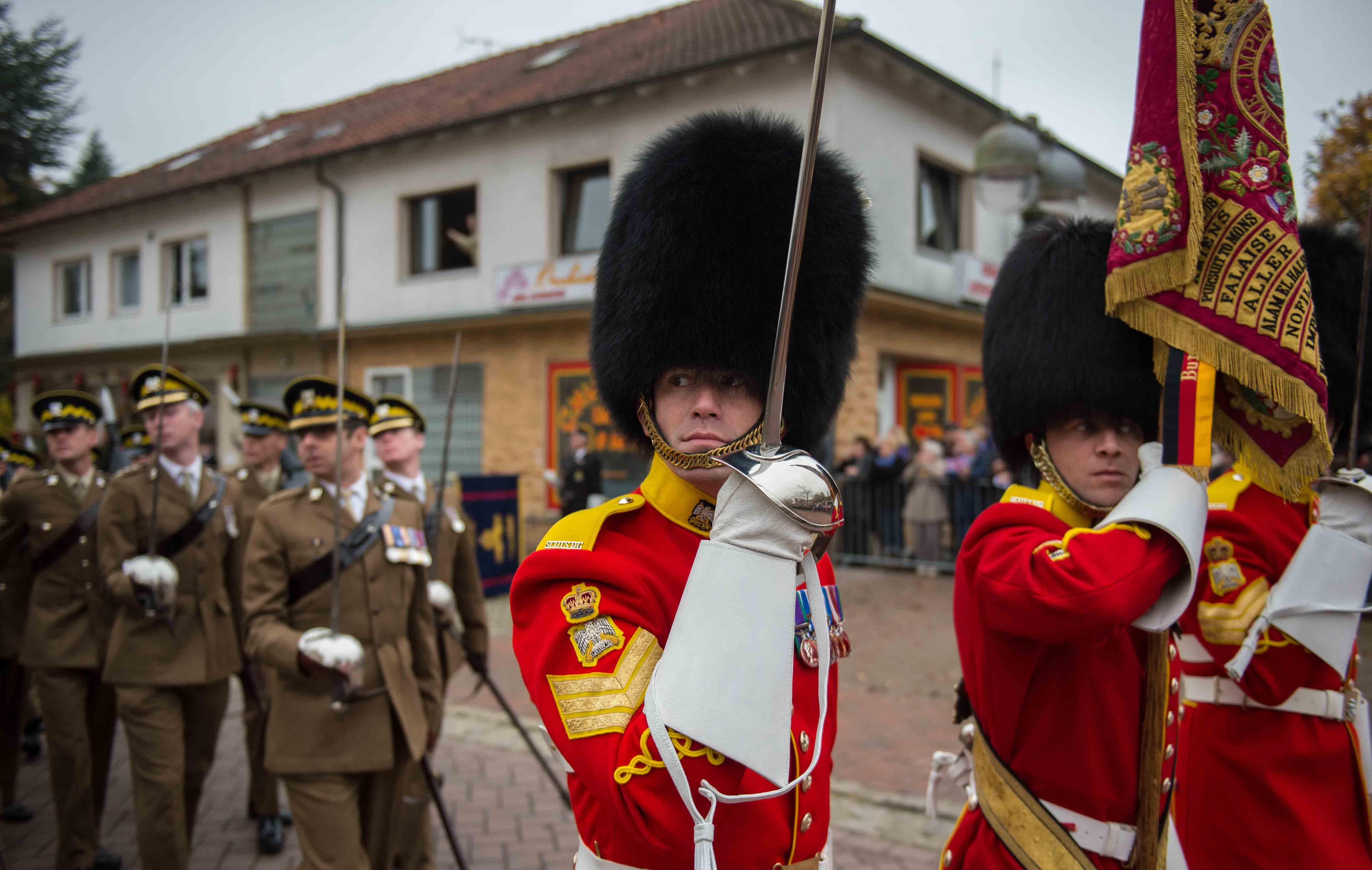 Die Briten verlassen Celle