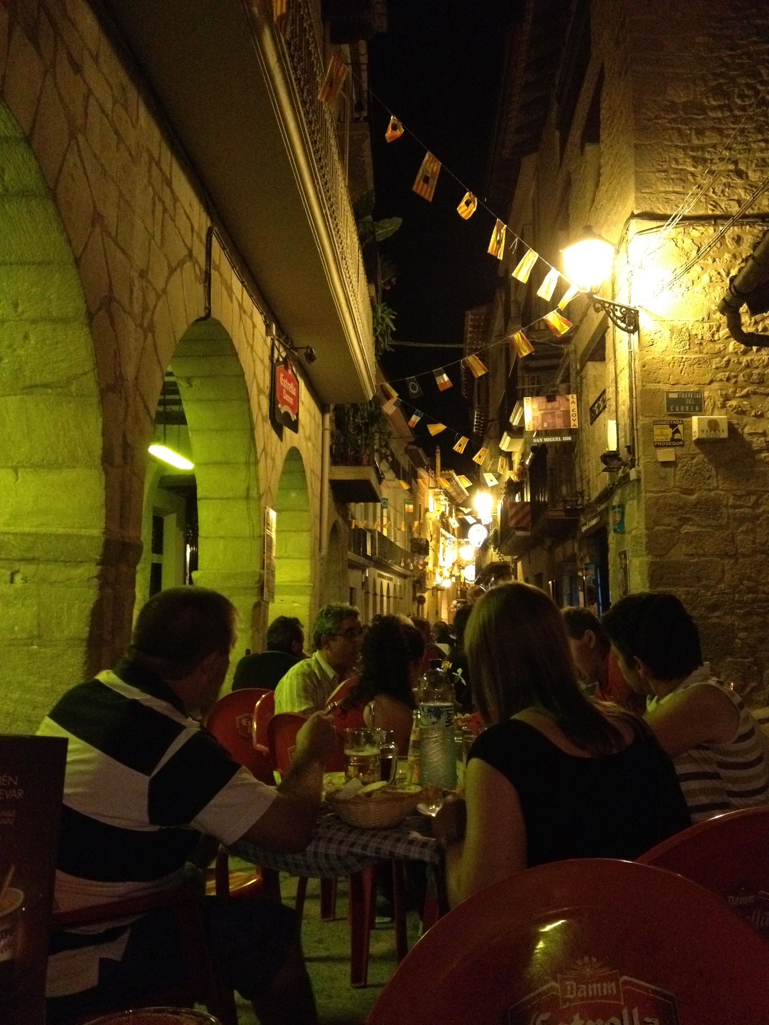 Dining in Valderrobres