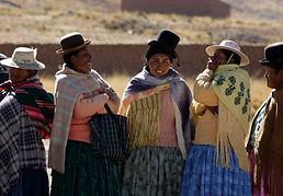 Women voting Bolivia
