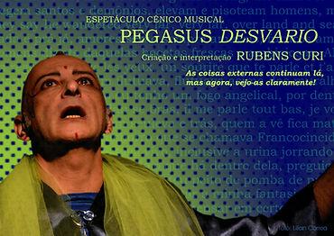Espetáculo Pegasus Desvario