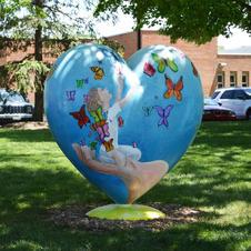 Northbrook Heart Sculpture