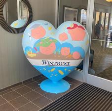 Wintrust Heart Sculpture