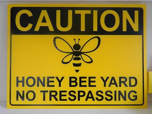 Beekeeping Sign