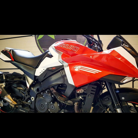 Wrapping complet sur moto