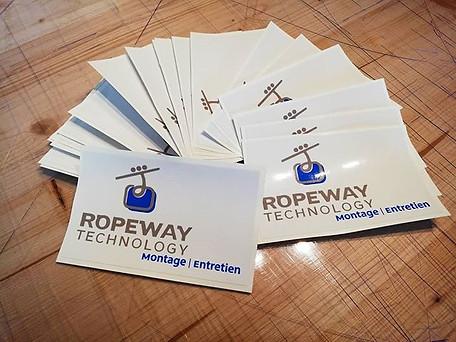 Autocollants pour Ropeway