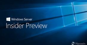 WIndows Server Insider Preview Release