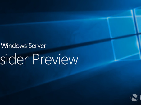 WIndows Server Insider Preview Release