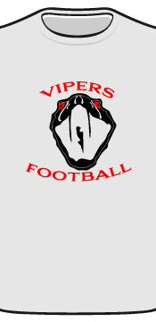 vipers tee front