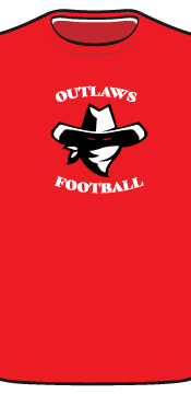 outlaws tee front