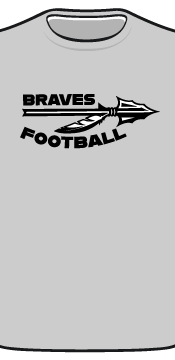 braves tee front