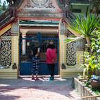 Door to the monks house