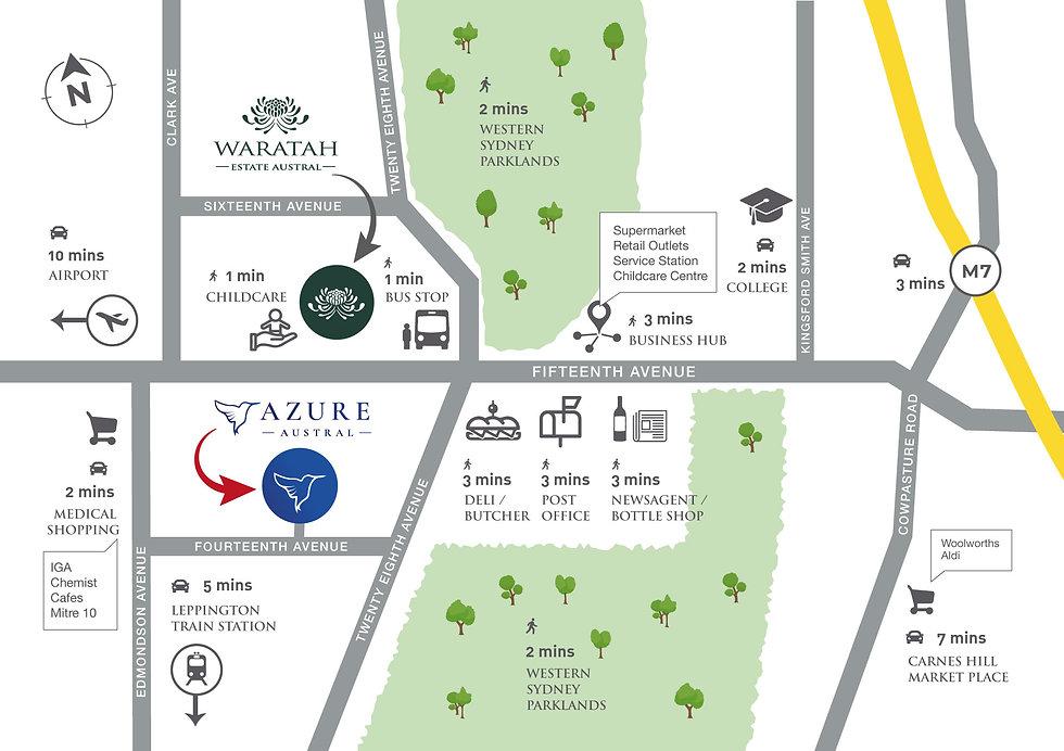 AAzure Austral map
