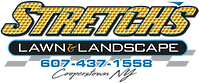 Stretch's Lawn Care Logo PNG 2020 GOLD T