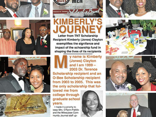 Special Weekend MCJ Edition Featuring the Dr. Terence N. Thomas Scholarship!