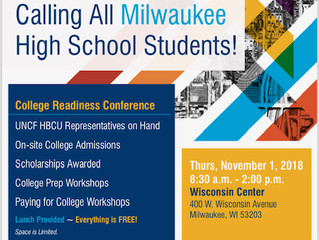 UNCF College Tour Stops in Milwaukee, Awarding Local Students Thousands in College Scholarships
