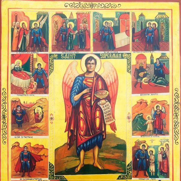 Icon 8 Saint Superman