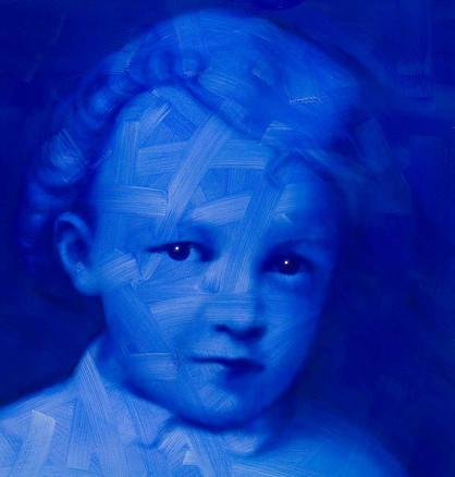 BABY LENIN IN BLUE, 2009