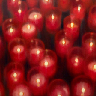 RED CANDLES, 2014