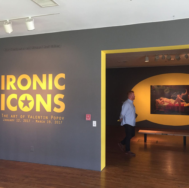 Long Beach Museum of Art Presents Ironic Icons