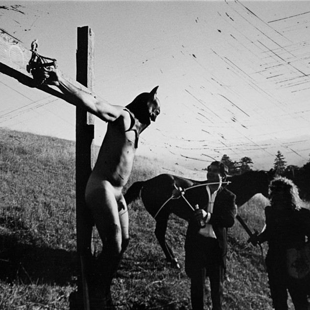 Saint Batman Crucifixion: Performance