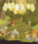 Fete-des-champignons-louvain-la-neuve-affiche-illustration-plaisirs-minuscules-julie-servais