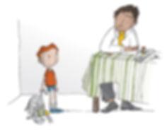 dessin-journal-En marche-julie servais-illustration-article-accueil-enfant-plaisirs minscules