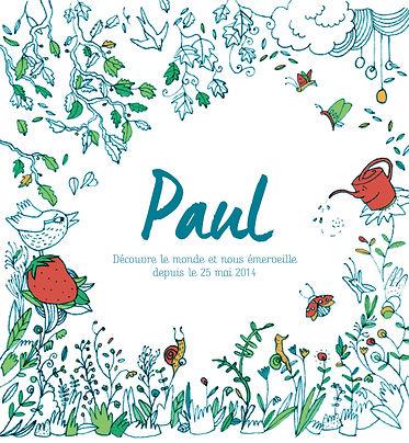 illustration-dessin-naissance-trait-dessin-végétal-plaisirs minuscules, faire-part, julie servais, illustratrice bruxelles