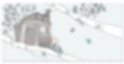 illustration cabane-dessin enfant-naissance-faire-part, julie servais, illustratrice bruxelles
